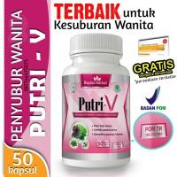Obat Penyubur Wanita BPOM - PUTRI V