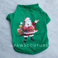 (B15) Baju Anjing Kucing Hewan Natal Kostum Natal Anjing Dog Christmas - XS