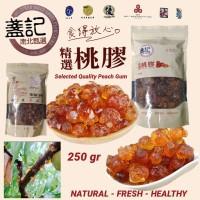 Peach Gum/ Tao Jiao Selected Quality Grade Super A+ 250 gr