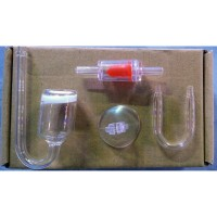 AQUASCAPE Co2 GLASS DIFFUSER/ATOMIZER COMPLETE SET