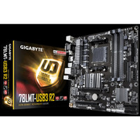 GIGABYTE GA - 78LMT - USB3 R2 - SOCKET AM3 plus - SUPPORT FX A SERIES