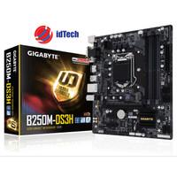 Motherboard Gigabyte Socket 1151 (GA-B250M-DS3H) Resmi Limited