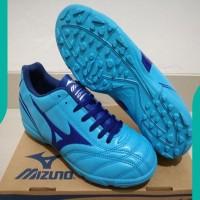 NEW Sepatu Futsal Mizuno Monarcida Blue - TURF ASLI