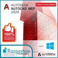 ORIGINAL Autodesk AUTOCAD MEP 2018 2019 2020 Lisensi 3 Tahun