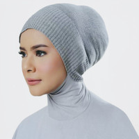 Ciput rajut anti pusing inner dalaman jilbab hijab khimar bandana segi