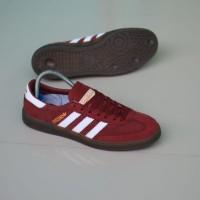 Original Sepatu Adidas Spezial Red White Made In Indonesia