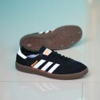 Sepatu Adidas Spezial Black List White Sol Gum Original Premium