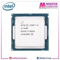 Processor Intel Core i3-6100 Tray + Fan Socket 1151