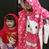 Baju Handuk Anak Ponco