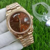Jam Tangan Pria Rolex Oyster Perpetual Datejust RG Tone Swis 1:1