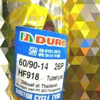 PAKETAN BAN LUAR DURO UKURAN 50/90-14 & 60/90-14 TUBETYPE