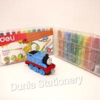Deli EC20104 Oil Pastel Crayon 12 colors (box)
