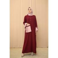 Nafashakila Safira Gamis, Abaya Merah