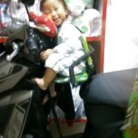 Bantal Stang Setang Stir Setir Motor Anak Spiderman