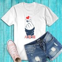Kaos / Tumblr Tee / T-Shirt Wanita Sarangheo