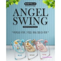 BabyElle Automatic Baby Swing / Ayunan Bayi Elektrik Otomatis