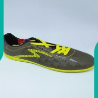 NEW Sepatu futsal specs original Quark IN evil olive/zest green new