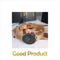 Terlaris Daniel Wellington petite rosegold black 32mm Original