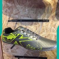 NEW Sepatu futsal kelme original Star Evo Silver lime new 2017 ASLI