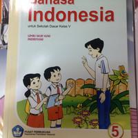 Buku bahasa Indonesia kelas 5 bse