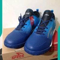 NEW Sepatu futsal specs murah Metasala Musketeer galaxy blue
