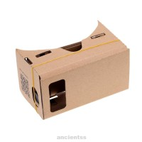 High Quality Google Virtual Reality 3D Cardboard Vr Headset Full Wit