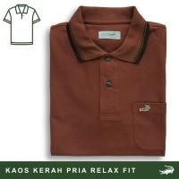 Crocodile CRCOLE 5 - Baju Kaos Kerah Pria Men Polo Original Relax Fit
