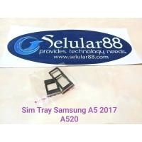 Sim Tray Samsung A520 A5 2017 Slot Card SimSlot SimCard Kartu Perdana