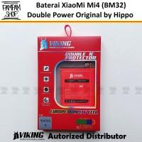 Baterai VIKING Double Power Original XiaoMi BM32 Mi4 Mi 4 Batre Batrai