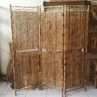 Partisi/Pembatas Ruangan/Sketsel Jogja dari Bambu Cendani