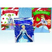 Amplop / Angpao Natal Disney Princess Cinderella Christmas Xmas