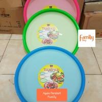 TAMPAH PLASTIK / NAMPAN KUE 49 CM FOOD SAFE NAGATA 012M / TUMPENG