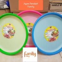 TAMPAH PLASTIK / NAMPAN KUE 57 CM FOOD SAFE NAGATA 012L / TUMPENG