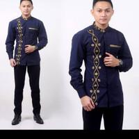 baju Koko batik / baku batik pria /baku Koko bagus /baju Koko terbaik