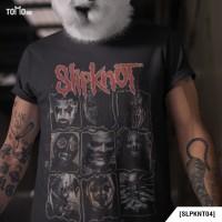 Slipknot - Face Kaos Band Original Gildan