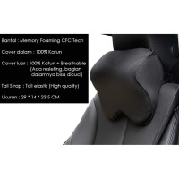Bantal Jok Mobil Sandaran Leher Kepala Premium Quality