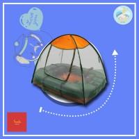 Kasur Bayi Kelambu Kasur Tenda Gajah Warna Hijau KS15