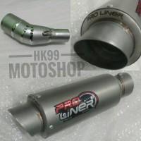 Knalpot Racing Ninja 250 R25 CBR 250RR PRO LINER TR1 Short Slip On