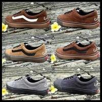 Hot List Sepatu Vans Golf Wang Full Hitam Coklat 39-40 Pria Man Cowok