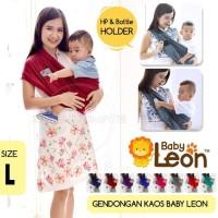 BABY LEON Gendongan Bayi Kaos/Geos/selendang Bayi Praktis BY44MAROON-F