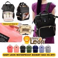 BABY LEON Tas ransel perlengkapan bayi/tas diaper popok bayi HS-899