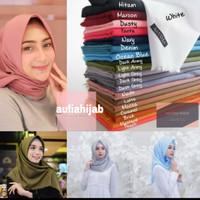 Jilbab segiempat saudia rawis/ katun saudia