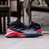 Sepatu Basket Adidas Own The Game Black Red Original BNWB Murah Diskon