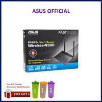 ASUS RT-N12+ : Wireless 300Mbps 3-in-1 Router