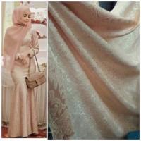 Kain Bahan Jaguard Gliter Buat Baju Gamis Baju Dress Baju Kebaya Dll