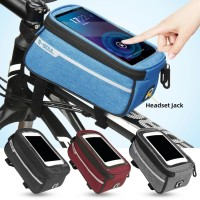 2 in 1 Tas Sepeda MTB + Phone Holder Waterproof Bicycle Bag Universal