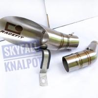 Knalpot Racing RACEFIT SLIP ON NINJA 250 CBR 250RR R25 MT25 CBR 150