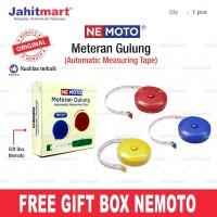 Meteran Kain / Meteran Baju / Meteran Badan / 150cm model pita gulung