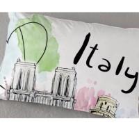 Balmut / Bantal Selimut Ilona 150x200cm motif ITALY