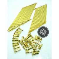 Jari Jari Gold Model TDR Ready ukuran Ring Velg 14 - 16 - 17 - 18 semu